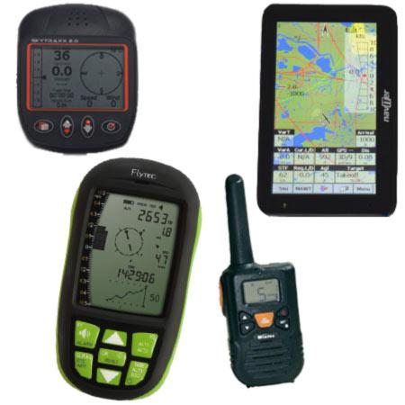 Im Webshop der Flugschule Magiclift findet man Variometer, GPS, Funkgeräte und weitere elektronische Gadgets.