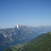 Wenn man hoch über dem Murgwald ankommt, kann man dort oft noch einmal Höhe tanken.